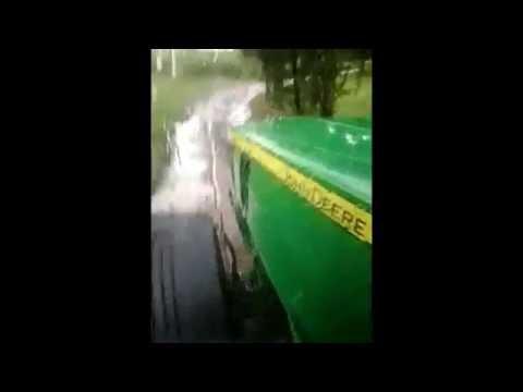 Kleines Video der Fahrt (John Deere 7230R)