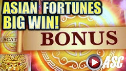 ★BIG WIN!★ ASIAN FORTUNES (Novomatic) & PUFFIN PRINCE (IGT) Slot Machine Bonus
