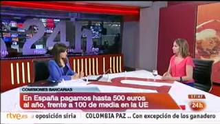 CANAL 24 HORAS Presentación estudio Fintonic sobre comisiones bancarias