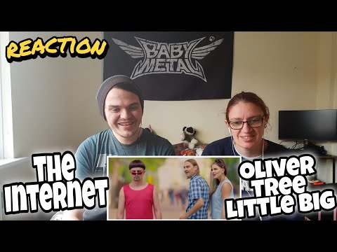 Oliver Tree & Little Big - The Internet [Music Video] Reaction !!