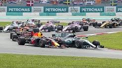 2017 Malaysian Grand Prix: Race Highlights