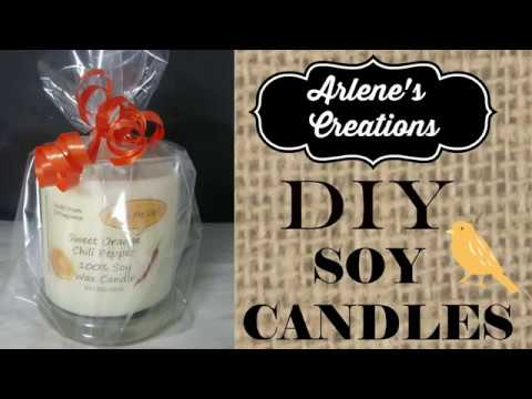 DIY SOY CANDLES !!!!! How To Make