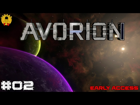 Avorion - #02 - Salvaging and hiring miner ship in the first system