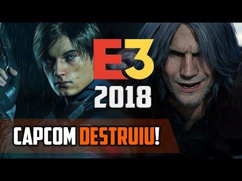 CAPCOM detonou na E3 2018! - Gameplay de RESIDENT EVIL 2 Remake e Devil May Cry 5