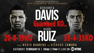Gervonta Davis vs Hugo Ruiz FULL FIGHT HD KO PUNCH