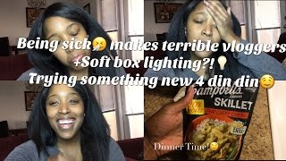 Being Sick 🤧Makes Terrible Vloggers! Softbox lighting💡Trying New Recipes!🤤|interracial family vlogs | Toolefamtv