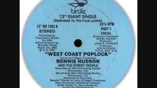 Ronnie Hudson & The Street People - Westcoast Poplock