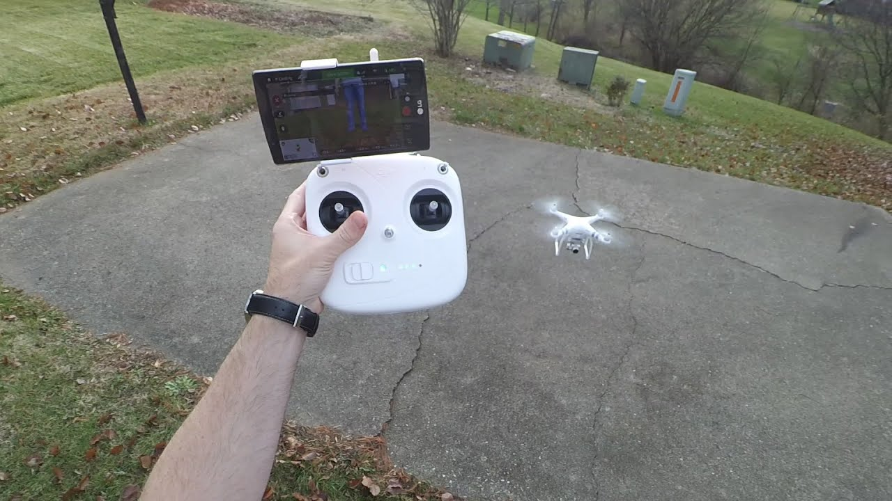 DJI Phantom 3 Standard Unboxing and First Flight!