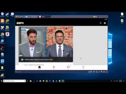 How To Download and Install ESPN app on PC (Windows 10/8/7/Mac)
