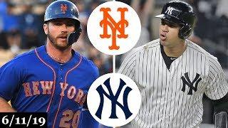 New York Mets vs New York Yankees (Game 1) - Full Game Highlights | June 11, 2019 | 2019 MLB Season
