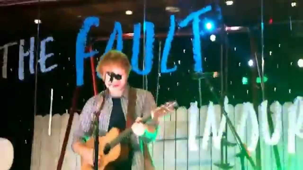 Download Ed Sheeran - Sing (Live at Youtube Space) The Fault In Our Stars Event