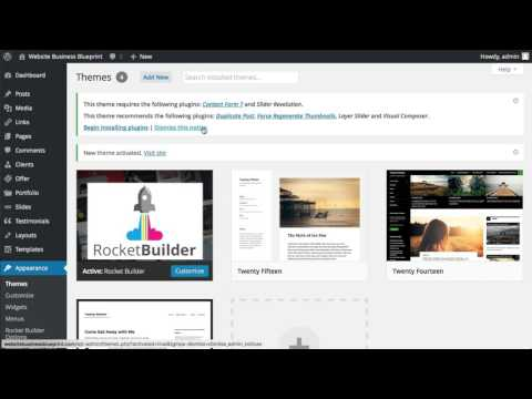 02 How To Install A WP Theme Via Cpanel