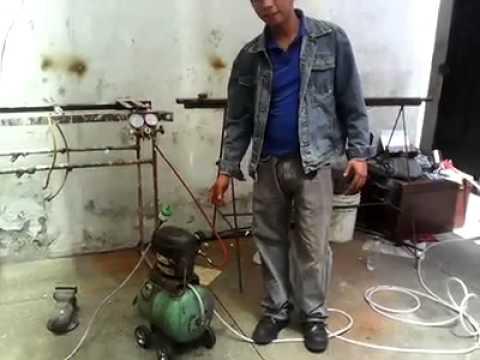 compresor de aire casero. compresor de aire casero youtube