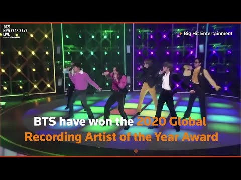 BTS named IFPI Global Recording Artist of the Year