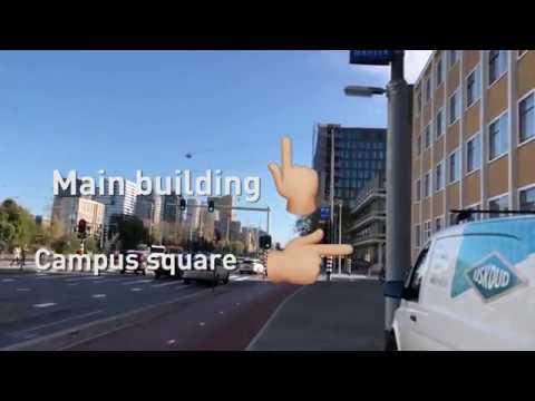 Vrije Universiteit Amsterdam korte Campus tour