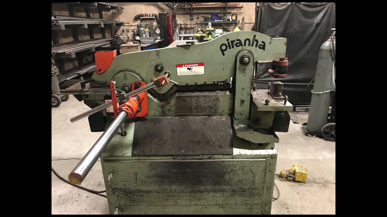 Used Piranha P50 Ironworker DEMO for sale at Worldwide Machine Tool