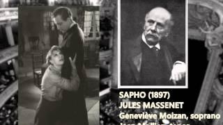 """Geneviève Moizan & Jean Mollien sing Sapho (J. Massenet)""""Duo d"""