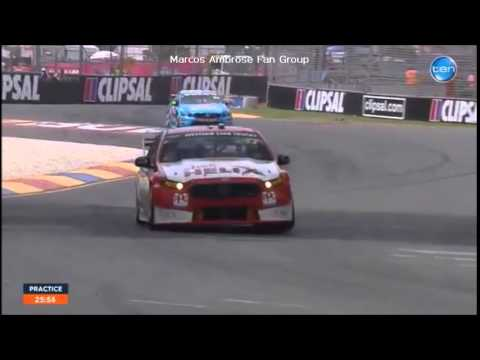 V8 Supercars Flashback : Ambrose in Practice and Roger Penske Interview - Clipsal 500 #V8SC
