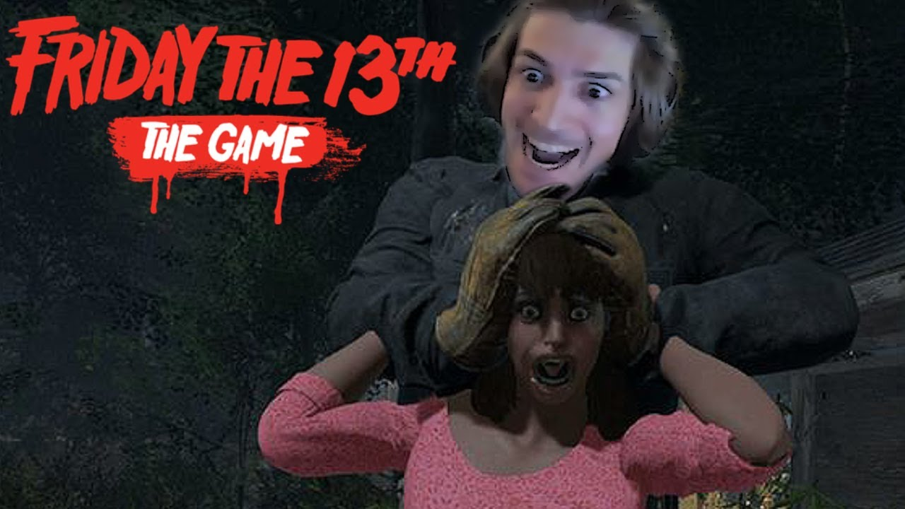 xQc Plays Friday the 13th with Moxy, Cochise, Willneff & Friends!