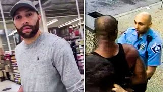 Cop Who Held George Floyd's Legs Confronted in Grocery Store