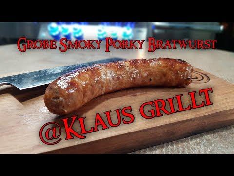 📷 Grobe Smoky Porky Bratwurst @Klaus grillt (Selber Wursten leicht gemacht) | Grill & Chill