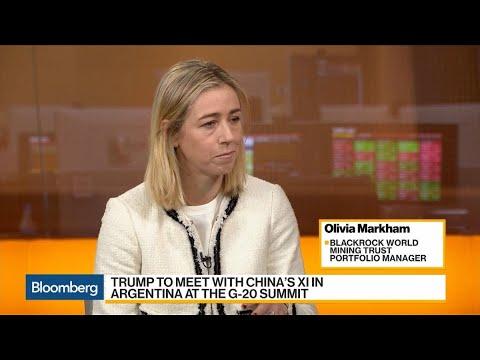 BlackRock's Markham Says Copper Price Has Fallen Too Far