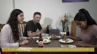 Grabox-Lipton Food delivery sampling Campaign