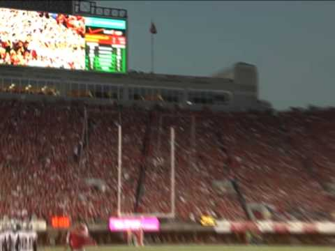 Nebraska: End zone