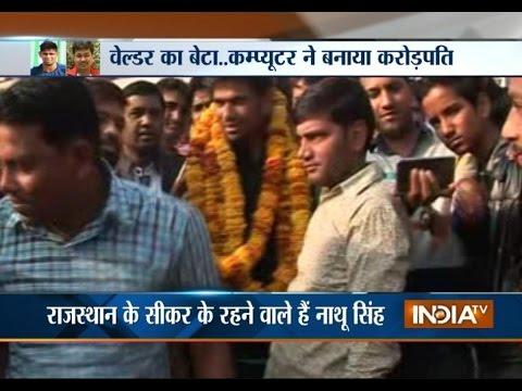 IPL 9 Auction: Labourer Son Nathu Singh's Dream Entry in Mumbai Indians