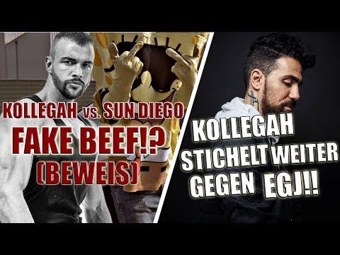 KOLLEGAH STICHELT WEITER GEGEN BUSHIDO   SUN DIEGO vs. KOLLEGAH - FAKE BEEF?! (Beweise)   STATEMENT