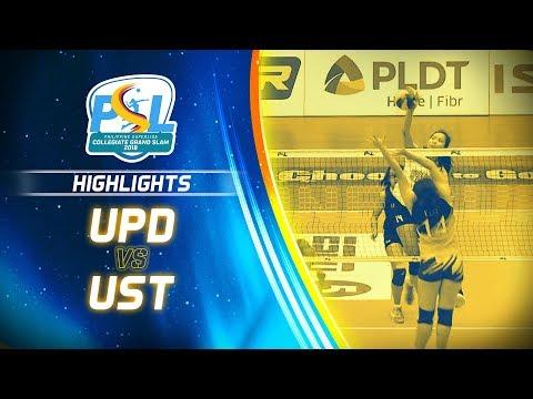 Highlights: UPD vs. UST | PSL Collegiate Grand Slam 2018