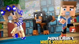 Minecraft - Donut the Dog Adventures -WHO'S YOUR DADDY??BABIES GO MAD!!!!