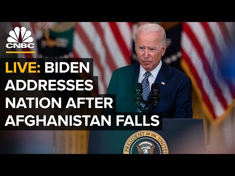 President Biden addresses the nation after Afghanistan falls to Taliban — 8/16/21