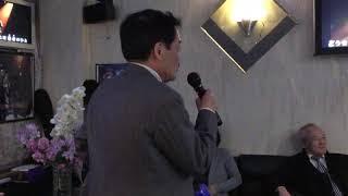 キックボクシングチャンピオン中川二郎さんが歌う吉幾三さんの唄