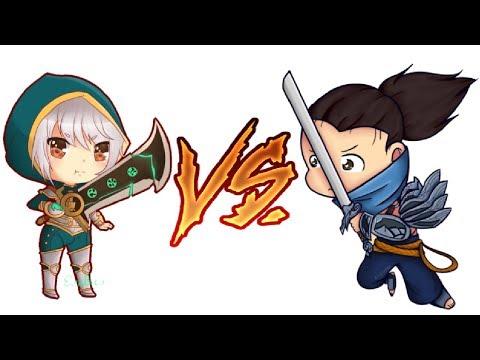 Vadi'nin Efsanevi Rap Savaşları III (Yasuo vs. Riven)