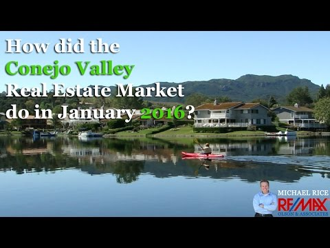 Conejo Valley Real Estate Market Update - February 2016