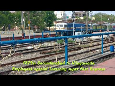 Secunderabad to Vijayawada intercity super fast Express