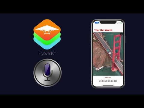 Intro to Speech Recognition in Swift iOS apps via FlyoverKit