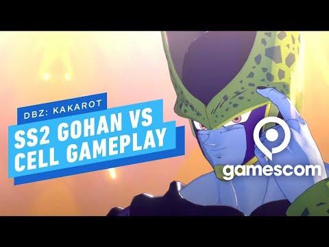 Dragon Ball Z Kakarot - Super Saiyan 2 Gohan Vs Cell Gameplay