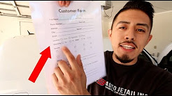 Use These Forms To Get More Detailing Customers (3 for you to download)