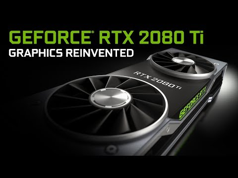 Nvidia announces RTX 2000 GPU series with '6 times more