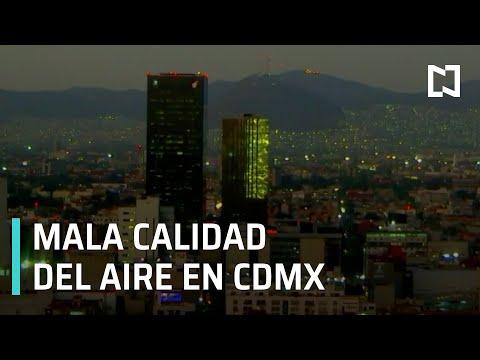 Calidad del aire en la Ciudad de México, de regular a mala - Las Noticias