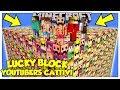 La Sfida Dei Lucky Block Giganti Degli Youtuber Cattivi! - Minecraft Ita