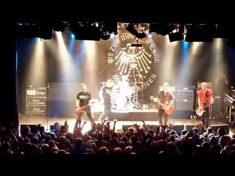 Die Toten Hosen - Halbstark LIVE @ Zeche Bochum 01.12.2014