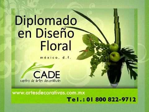 Curso Diplomado de Diseño Floral - CADE Centro de Artes