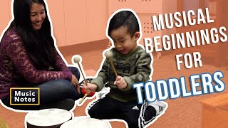 Musical Beginnings for Toddlers - Music Notes - Hoffman Academy