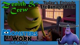 Monsters at Work: The Damaged Room - Out to Lunch Episode 2