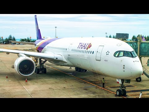 TRIPREPORT | THAI AIRWAYS | Airbus A350-900 | Phuket - Frankfurt | ECONOMY