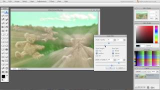 Zoom Blur filter in Sumo Paint thumbnail