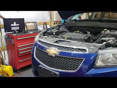 2012 Chevy Cruze Inspection And Transmission Fluid Change